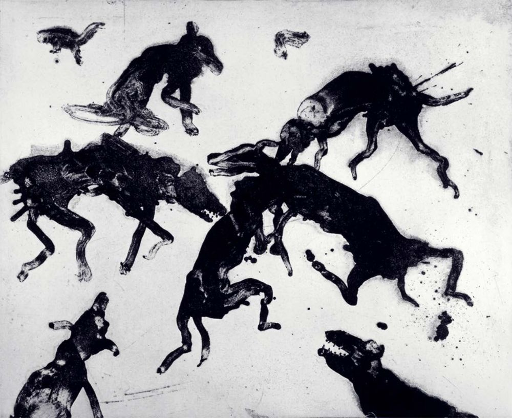 Etching And Aquatint Barcelo - Lanzarote 4