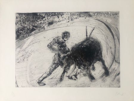 Etching And Aquatint Barcelo - Lanzarote 51