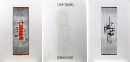 Illustrated Book Springer - Lao-Tseu : Tao Te King : 17 burins en couleurs de F. Springer (1952)