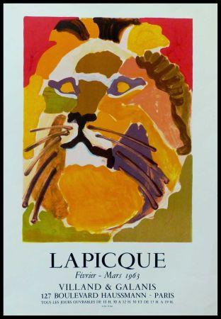 Poster Lapicque - LAPICQUE GALERIE VILLAND GALANIS