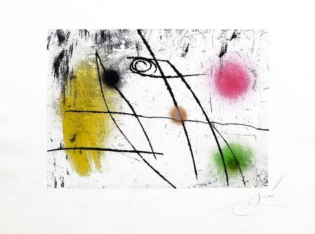 Etching Miró - Lapidari  Nº 37 Calsedonia