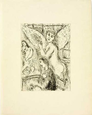 Etching Chagall - L'apparition