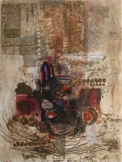 Etching And Aquatint Engel - Larghetto