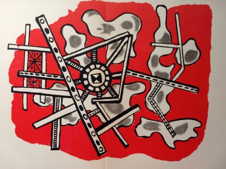 Illustrated Book Leger - L'art Abstrait