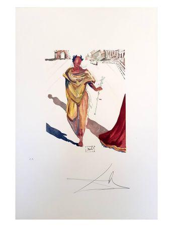 Lithograph Dali - L'art de l'amour
