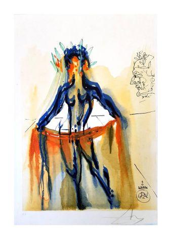 Lithograph Dali - L'art de l'amour - Vénus