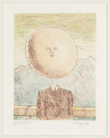 Etching Magritte -   L'art de Vivre