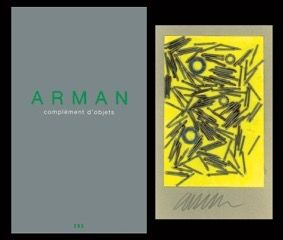 Illustrated Book Arman - L'art en écrit