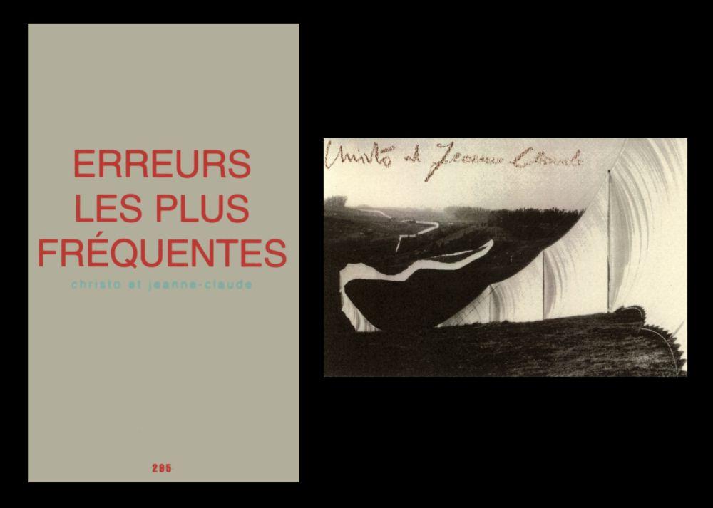 Illustrated Book Christo & Jeanne-Claude - L'art en écrit