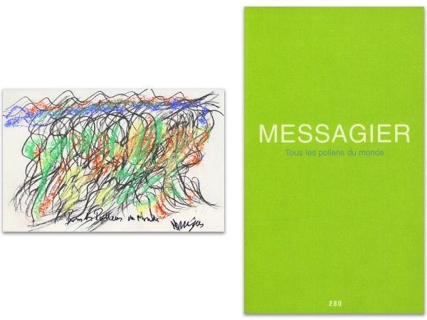 Illustrated Book Messagier - L'art en écrit