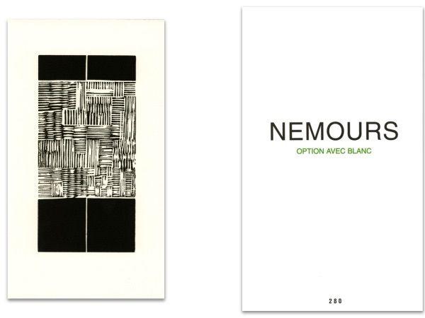 Illustrated Book Nemours - L'art en écrit