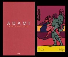 Illustrated Book Adami - L'art en écrit