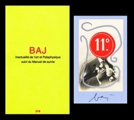 Illustrated Book Baj - L'art en écrit