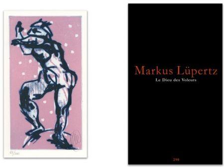 Illustrated Book Lüpertz - L'art en écrit