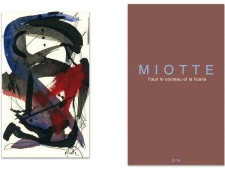 Illustrated Book Miotte - L'art en écrit