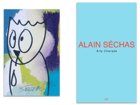Illustrated Book Séchas - L'Art en écrit