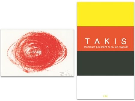 Illustrated Book Takis - L'Art en écrit