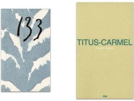 Illustrated Book Titus Carmel - L'Art en écrit
