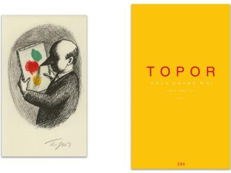 Illustrated Book Topor - L'Art en écrit