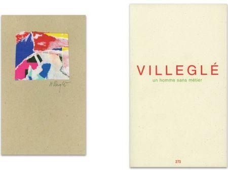Illustrated Book Villeglé - L'Art en écrit