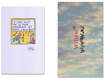 Illustrated Book Willem - L'Art en écrit