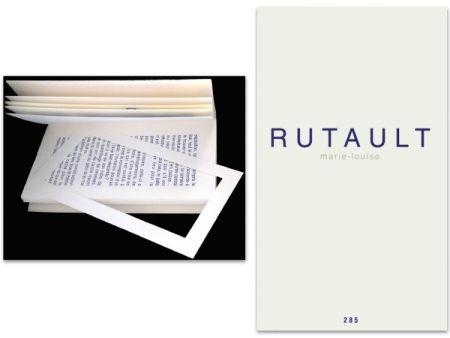 Illustrated Book Rutault - L'art en écrit