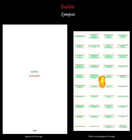 Illustrated Book Sarkis - L'Art en écrit