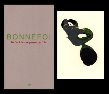 Illustrated Book Bonnefoi - L'Art en écrit