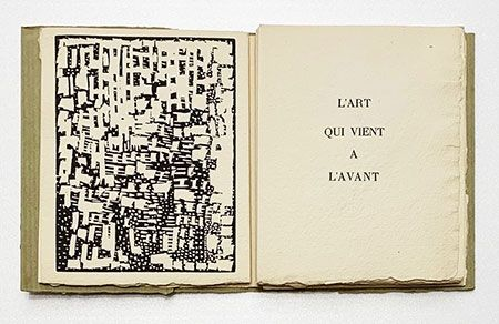 Illustrated Book De Stael - L'art qui vient à l'avant