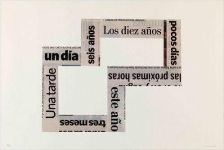 Lithograph Macchi - Las Horas