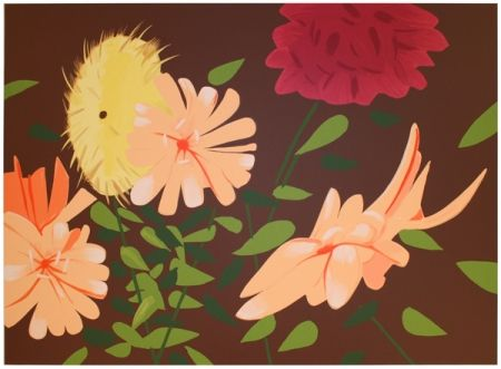 Screenprint Katz - Late Summer Flowers