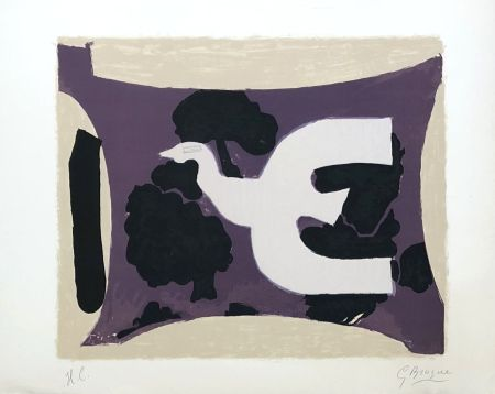 Lithograph Braque - L'atelier