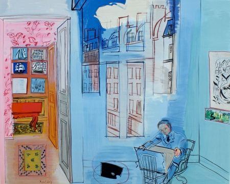 Lithograph Dufy - L'atelier de Impasse Guelma