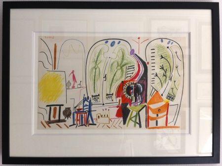 Lithograph Picasso - L'atelier de la Californie