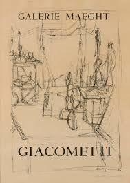 Poster Giacometti - L'atelier de l'artiste