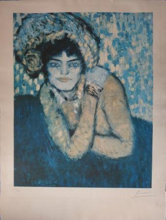 Lithograph Picasso - L'attente / The wait (Barcelone Suite)