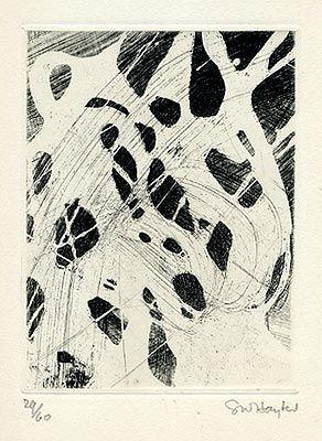 Engraving Hayter - L'Avant-Garde Internationale