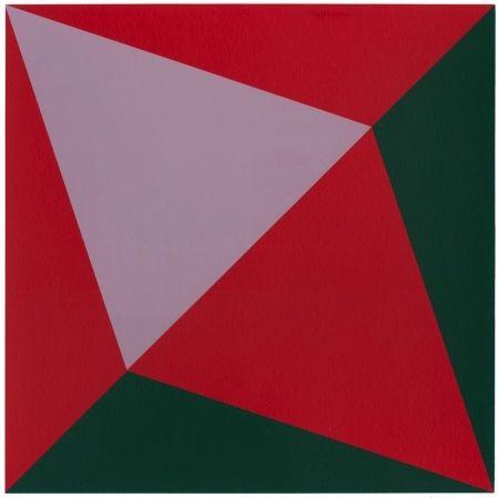 Screenprint Hinman - Lavender Triangle