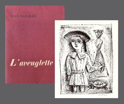 Illustrated Book Campigli - L'Aveuglette