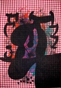 Lithograph Miró - Le Bagnard