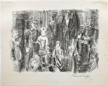 Lithograph Dufy - Le Bal chez L'Amiral