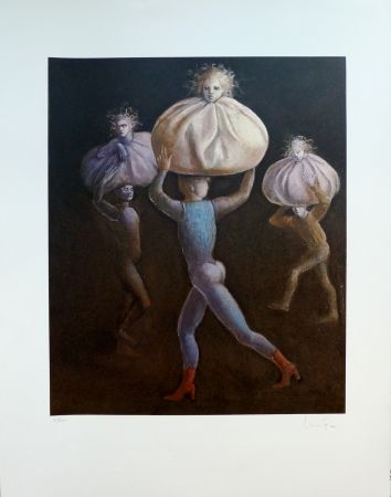 Lithograph Fini - Le Bal des Ingrats