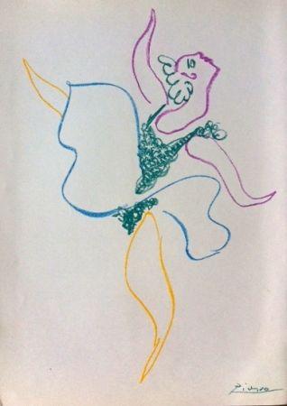 Lithograph Picasso - Le ballet