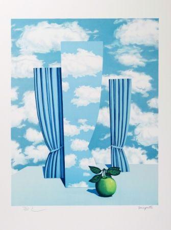 Lithograph Magritte - Le Beau Monde