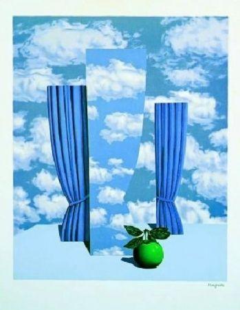 Lithograph Magritte - Le beau monde, 1962