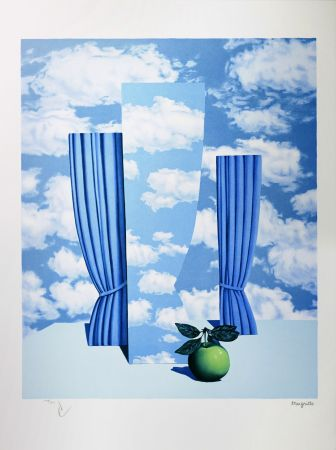 Lithograph Magritte - Le Beau Monde (The Beautiful World)