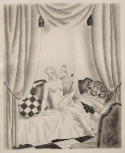 Illustrated Book Leroy  - Le bon plaisir, Le malheureux petit voyage, La belle sans chemise, Le Diable amoureux, La Fille aux yeux d'or, etc.