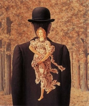 Lithograph Magritte - Le bouquet tout fait