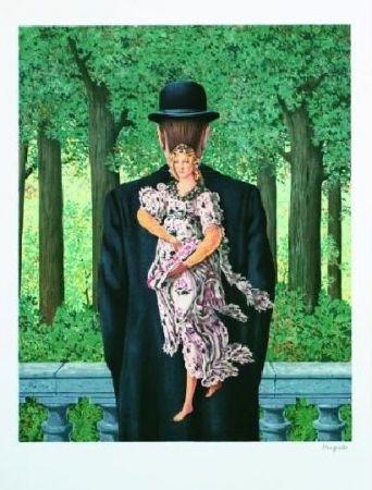 Lithograph Magritte - Le bouquet tout fait, 1957