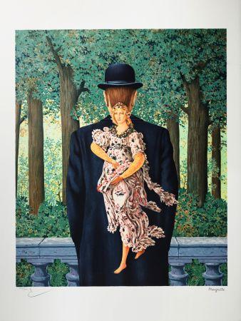 Lithograph Magritte - Le Bouquet tout Fait (The Ready-Made Bouquet)